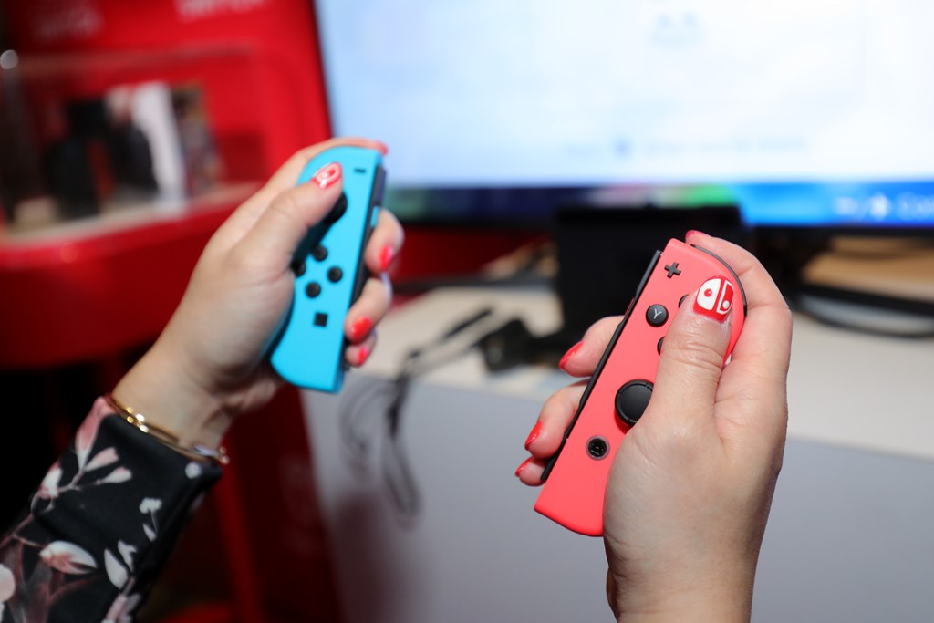 joy-con issues with switch