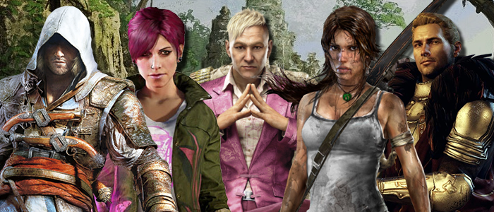 Just an fyi, aaa games have characters like these^