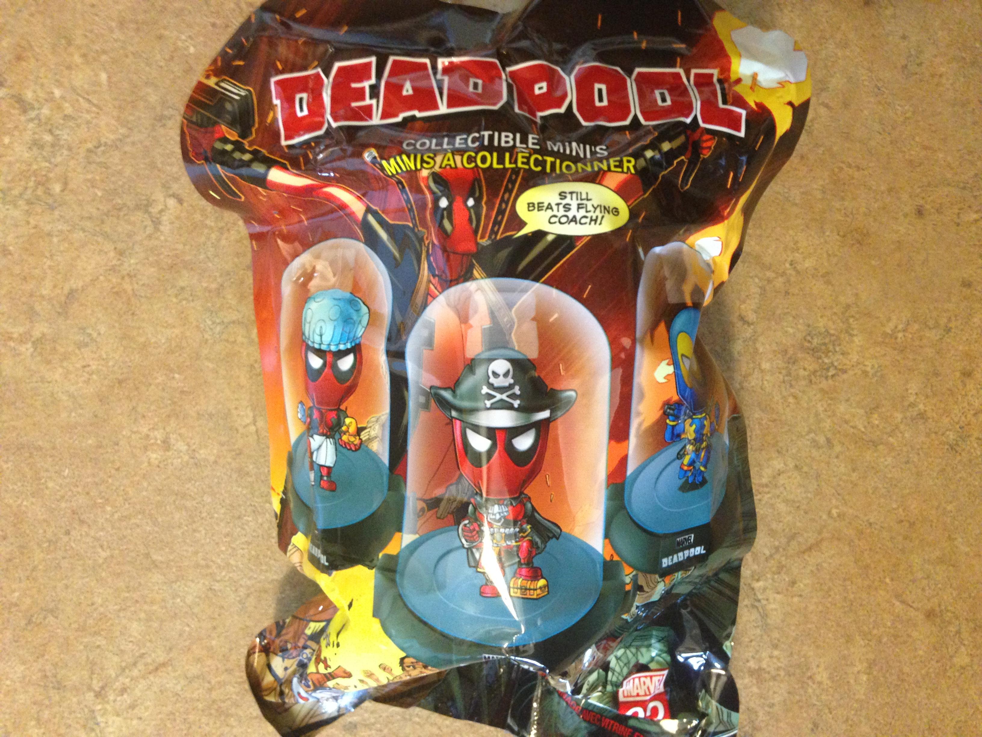 Geek Fuel April 2017 Deadpool Collectible
