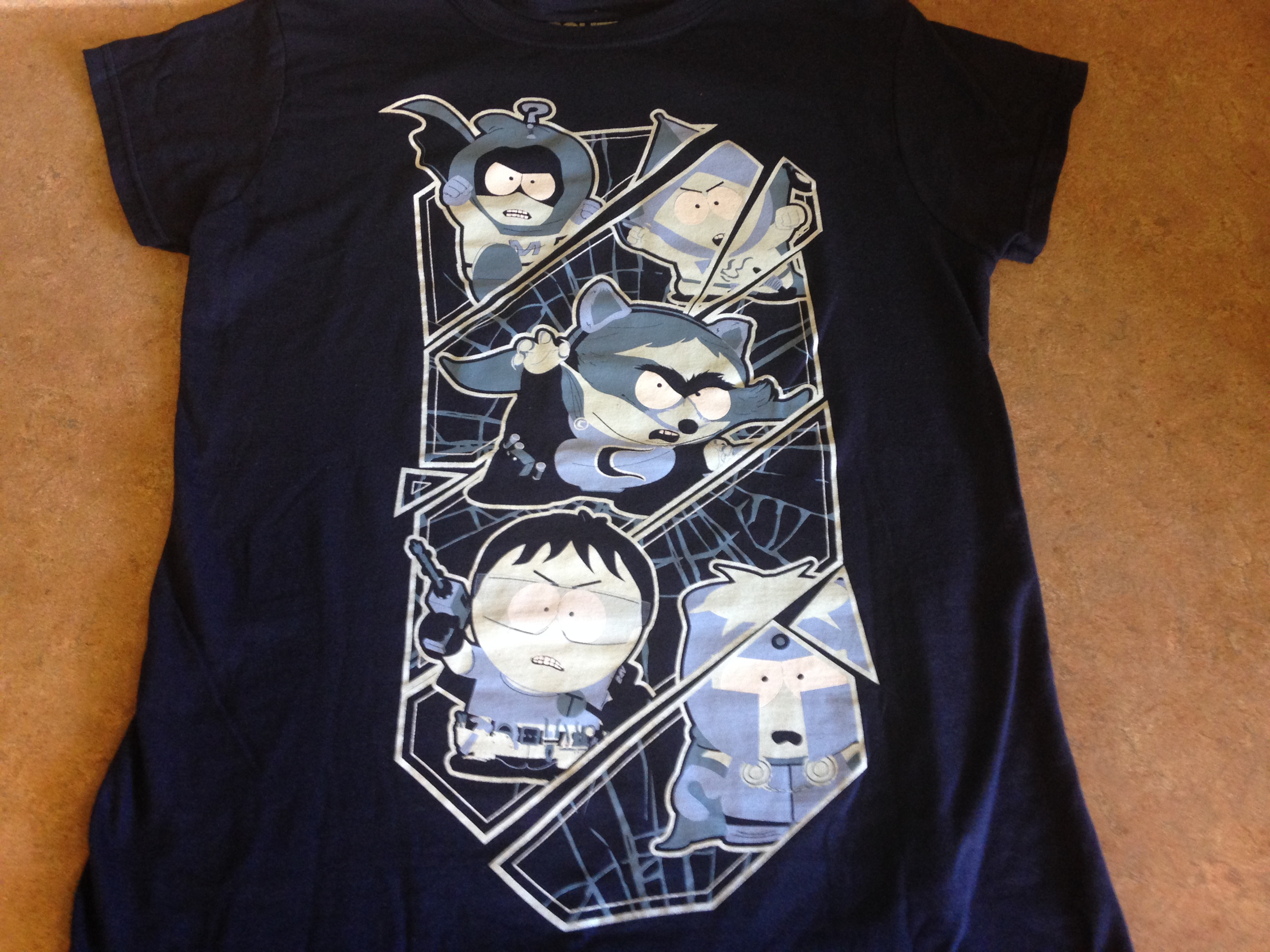 South Park the Fractured but Whole Tshirt, Geek Fuel April 2017