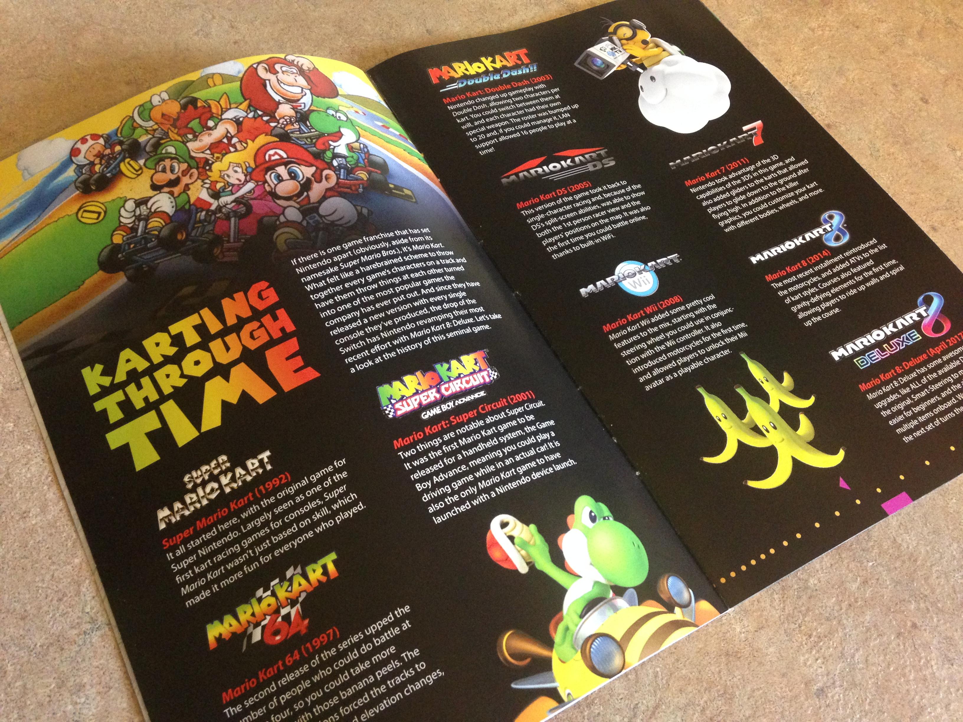 Geek Fuel Magazine, Mario Kart 8 Deluxe