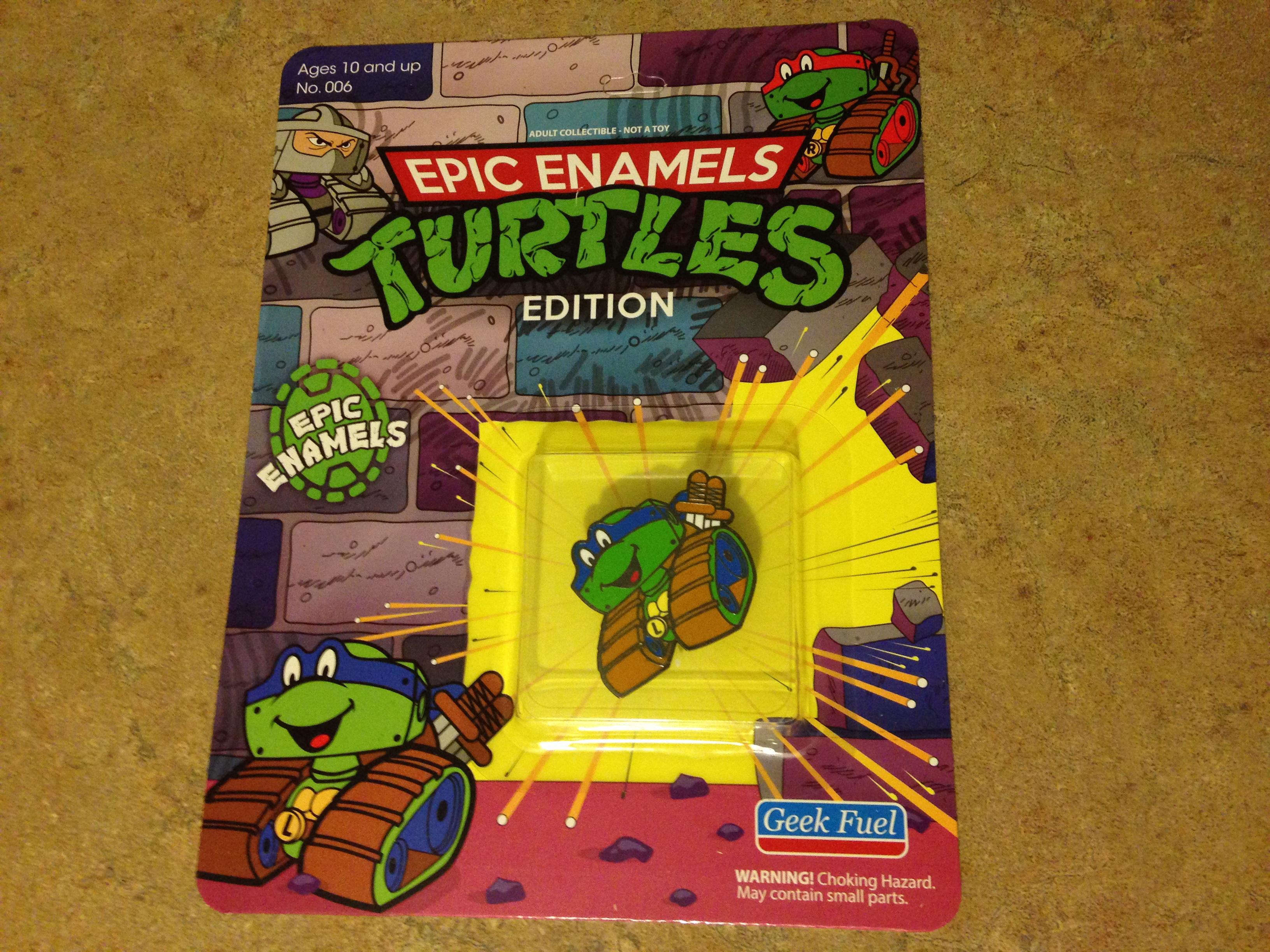 Geek Fuel's Mystery Box for April, Ninja Turtles!