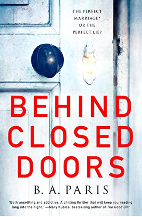 Kindle Book Deals 'Behind Closed Doors' by B.A. Paris