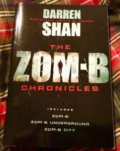 Bookcase Club April Teenage Dream box Zom-B Chronicles by Darren Shan