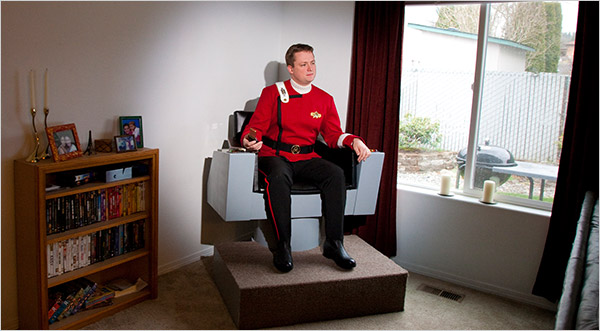 captain kirk chair in your own home
