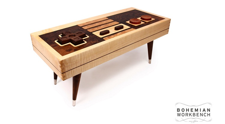 nintendo controller table on etsy