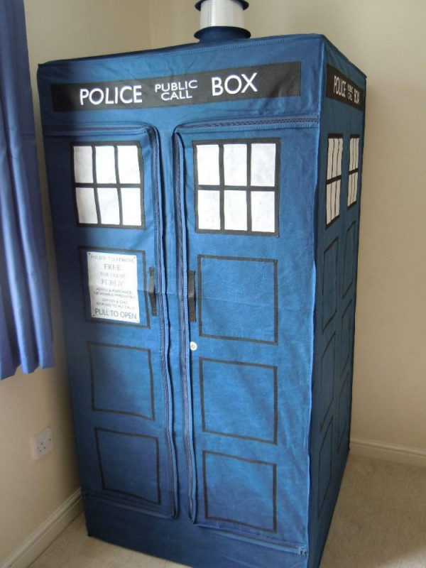 Tardis canvas wardrobe