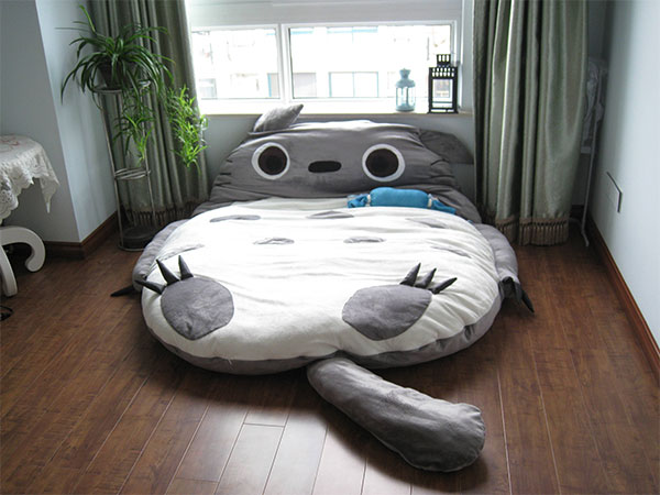 totoro sleeping bag bed