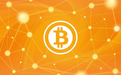 """""""Bitcoin Wallpaper (2560x1600)"""" (Public Domain) by PerfectHue"""