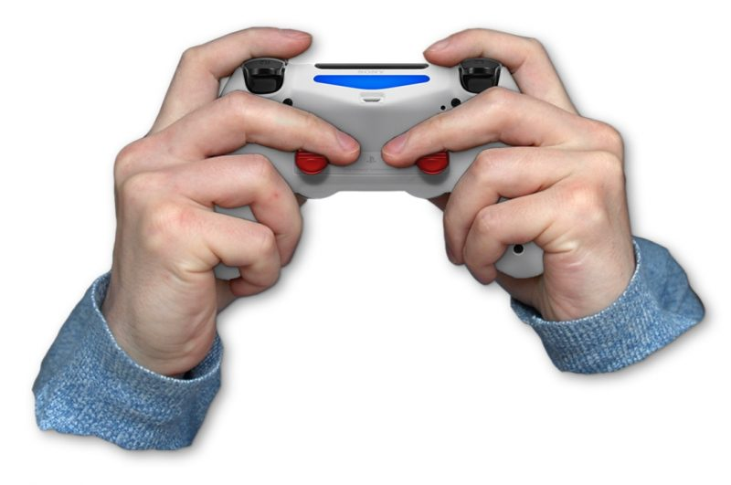 Click-stick-position