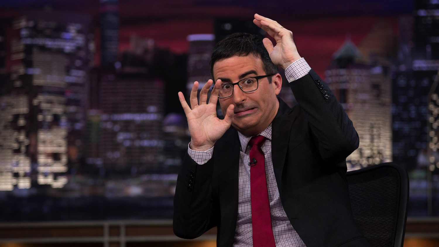 John Oliver being sued by big coal baron