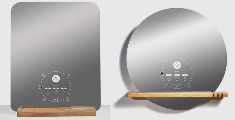 Ekko smart mirror, weirdest tech