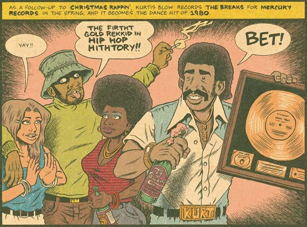 Hip Hop Family Tree vol 1