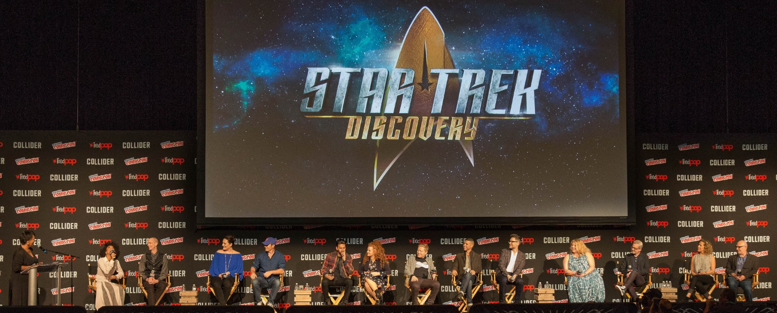 'star trek: discovery' cast at nycc
