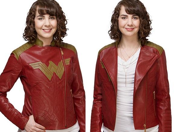 Wonder Woman Moto Jacket ThinkGeek