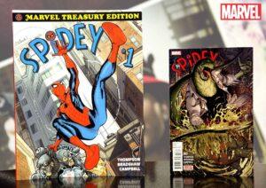 spidey marvel treasury edition