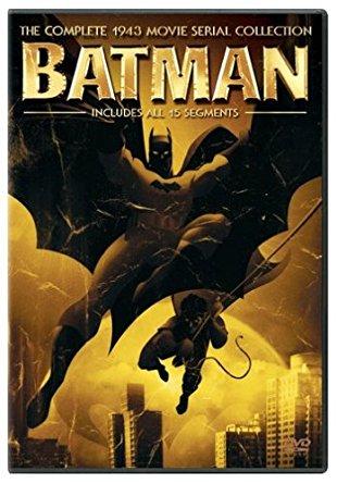 The evolution of batman, 1943 batman movie serial collection