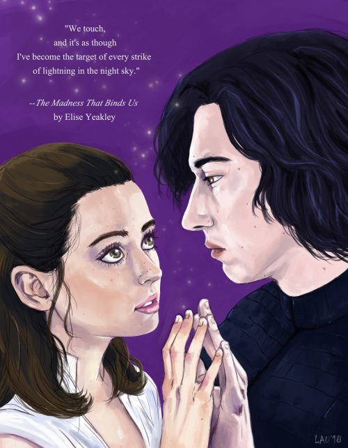 Laura Martinez Artwork, Star Wars Fanfiction, The Madness that Binds Us