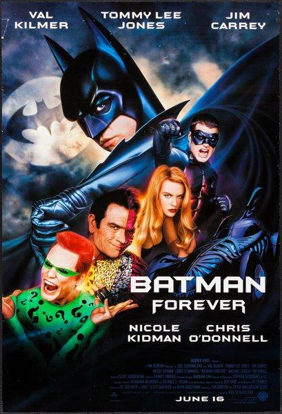 The evolution of batman, batman forever