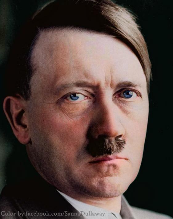 Hitler blue eyes, mandela effect