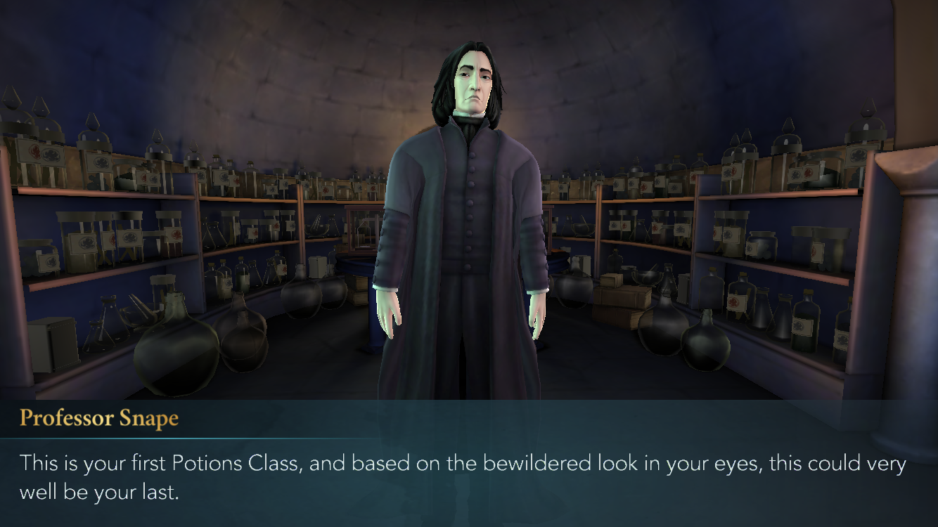 harry potter: hogwarts mystery game review