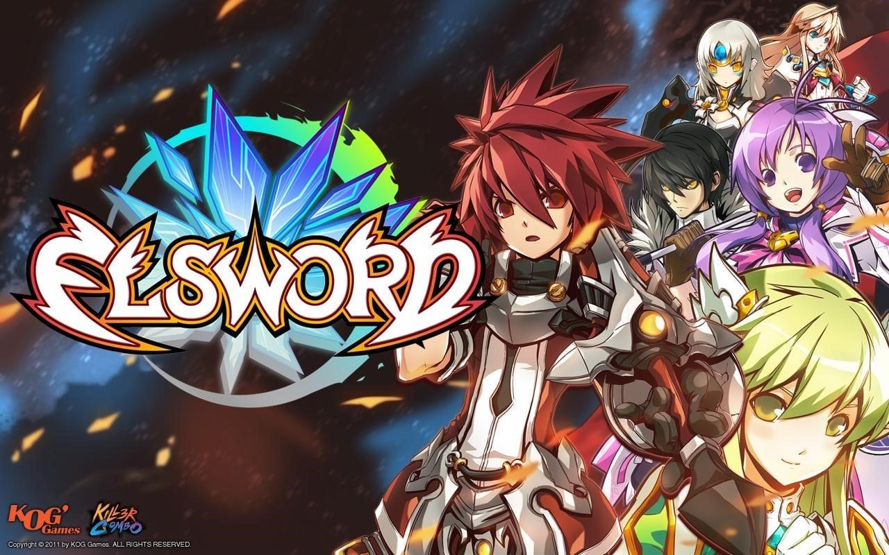 elsword, anime-inspired games
