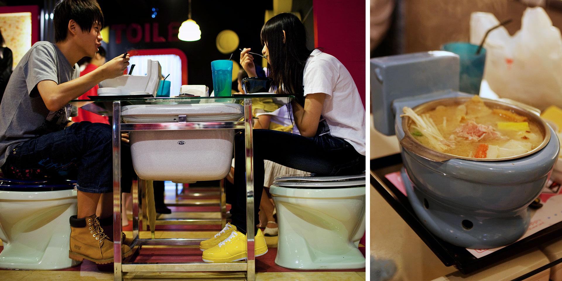 modern toilet resaurant, f'd up news