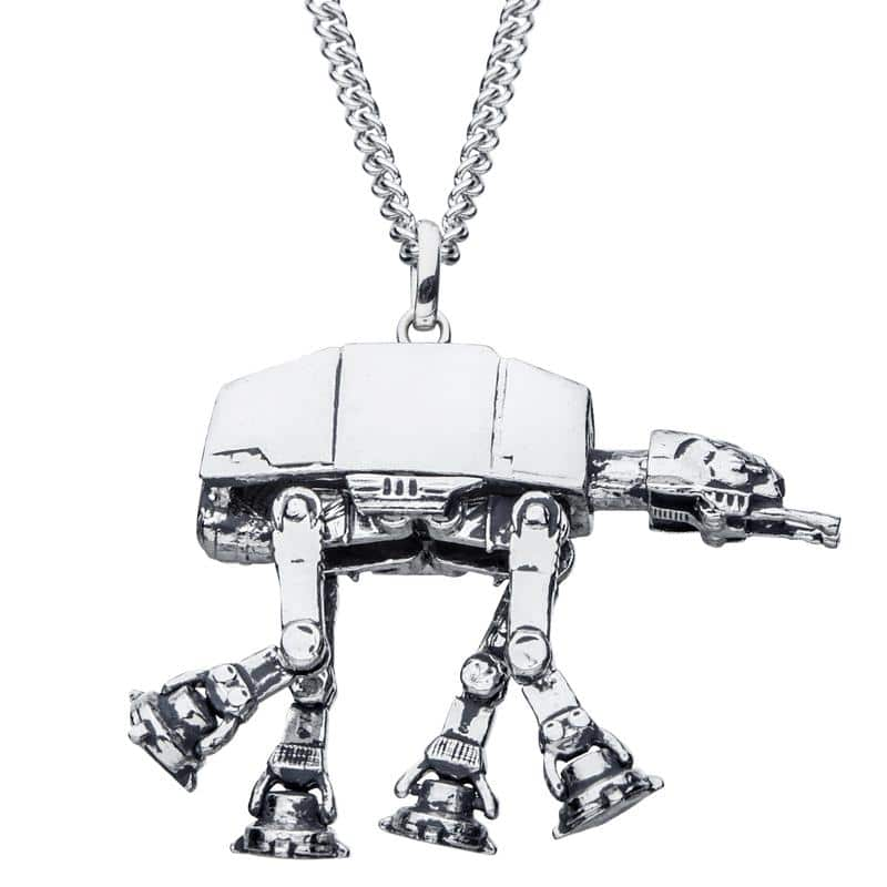 At-at necklace, star wars jewelry, rocklove