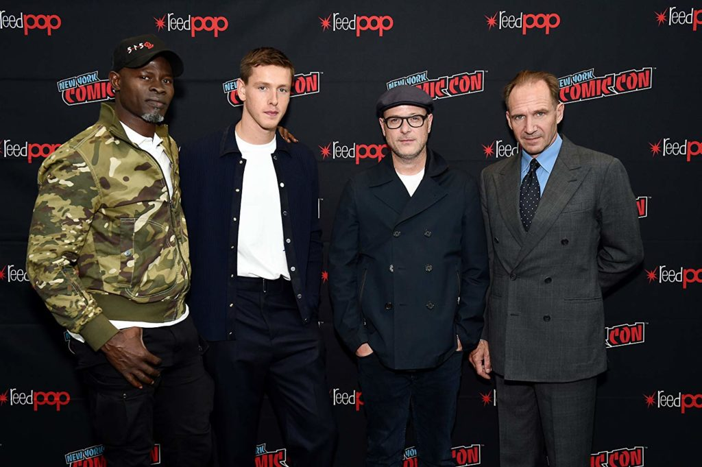 The cast of 'the king's man' at nycc (source: imdb)
