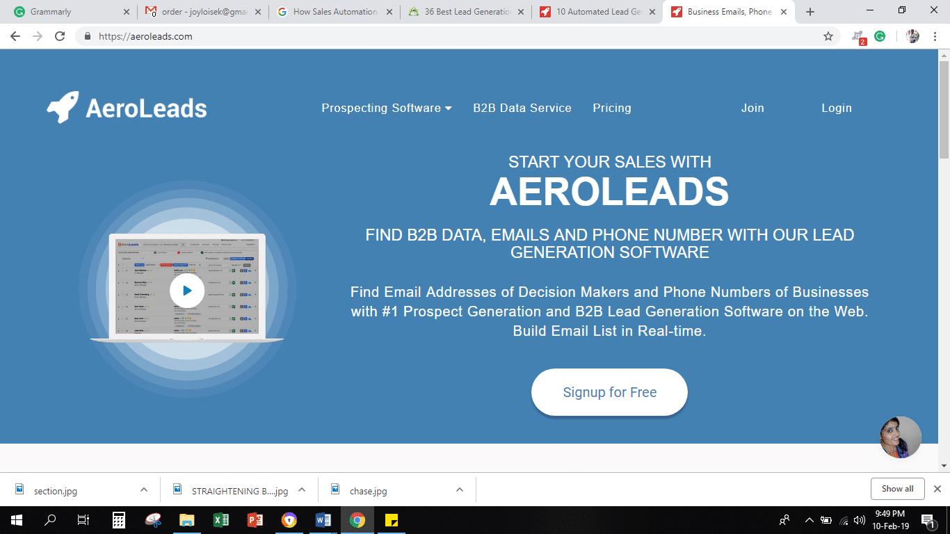 Aeroleads