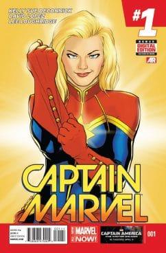 Captain marvel, kelly sue deconnick