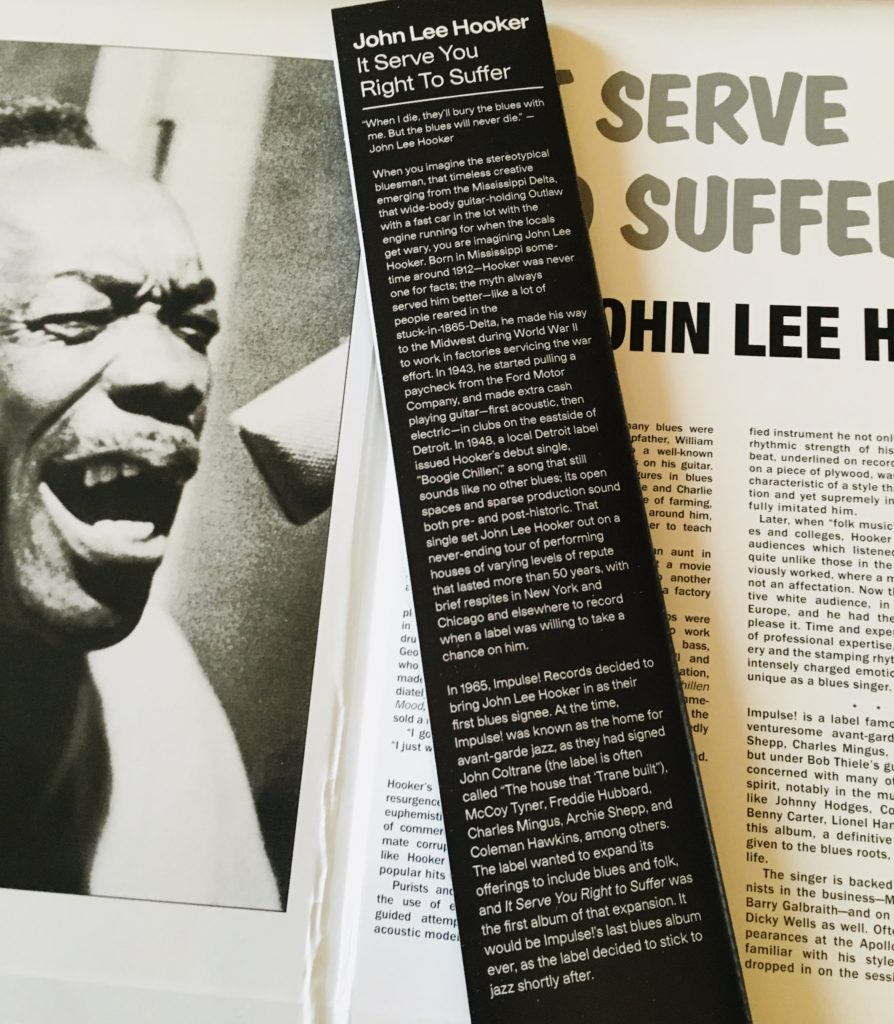Geek insider, geekinsider, geekinsider. Com,, vinyl me, please december unboxing: john lee hooker - it serve you right to suffer, culture, featured, geek life, music, reviews