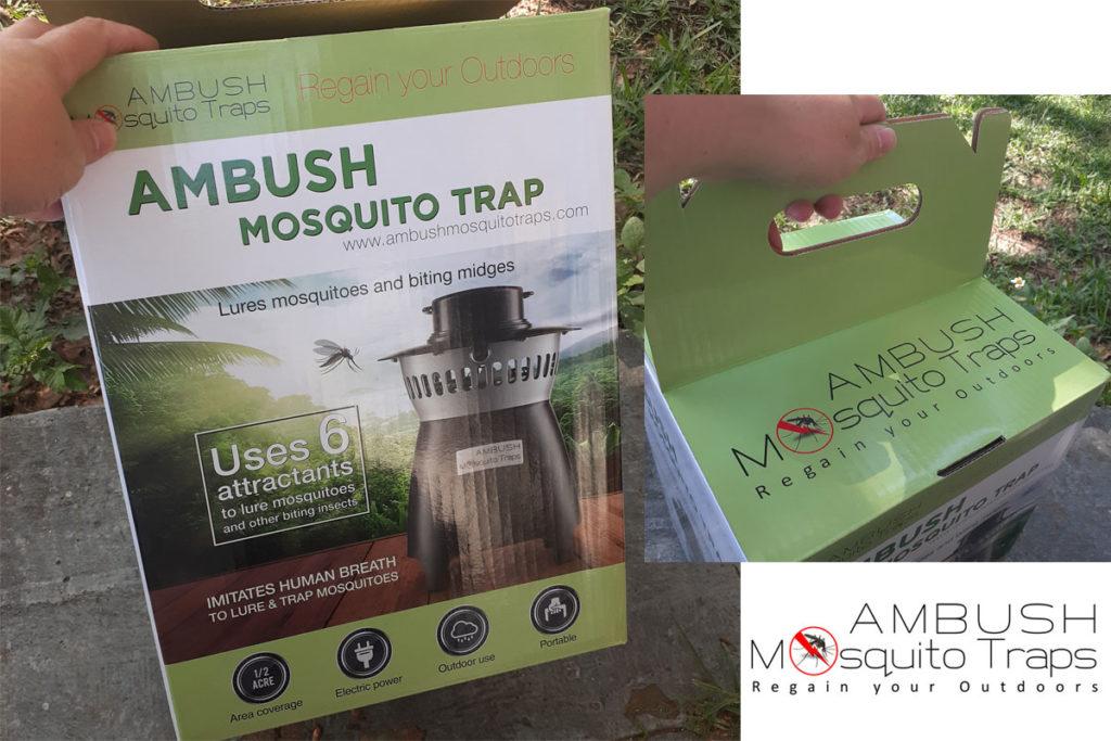 Ambush mosquito trap, review, meredith loughran, merej99,