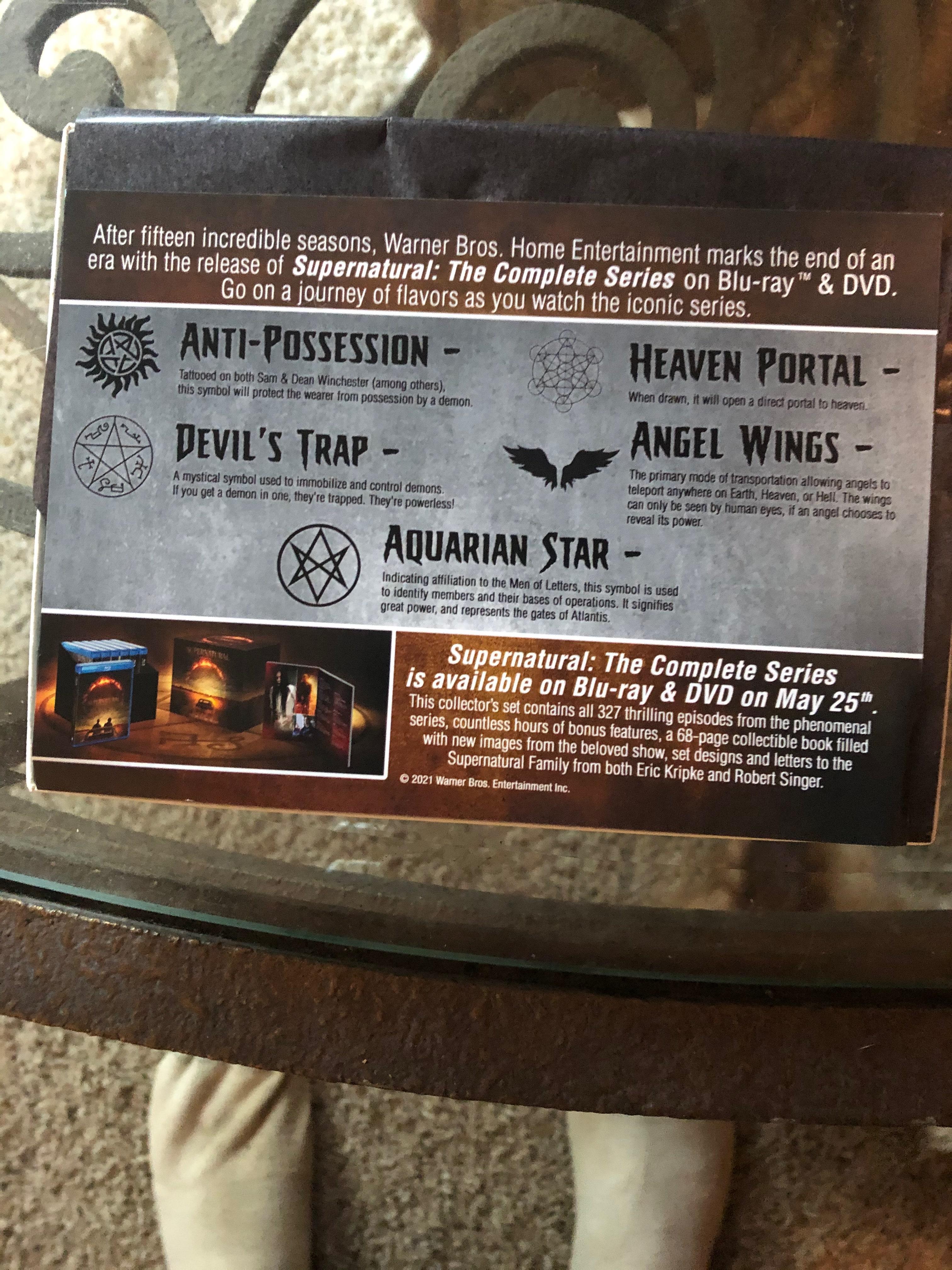 Geek insider, geekinsider, geekinsider. Com,, review: supernatural 15 season box set available 5/25, reviews, tv and movies