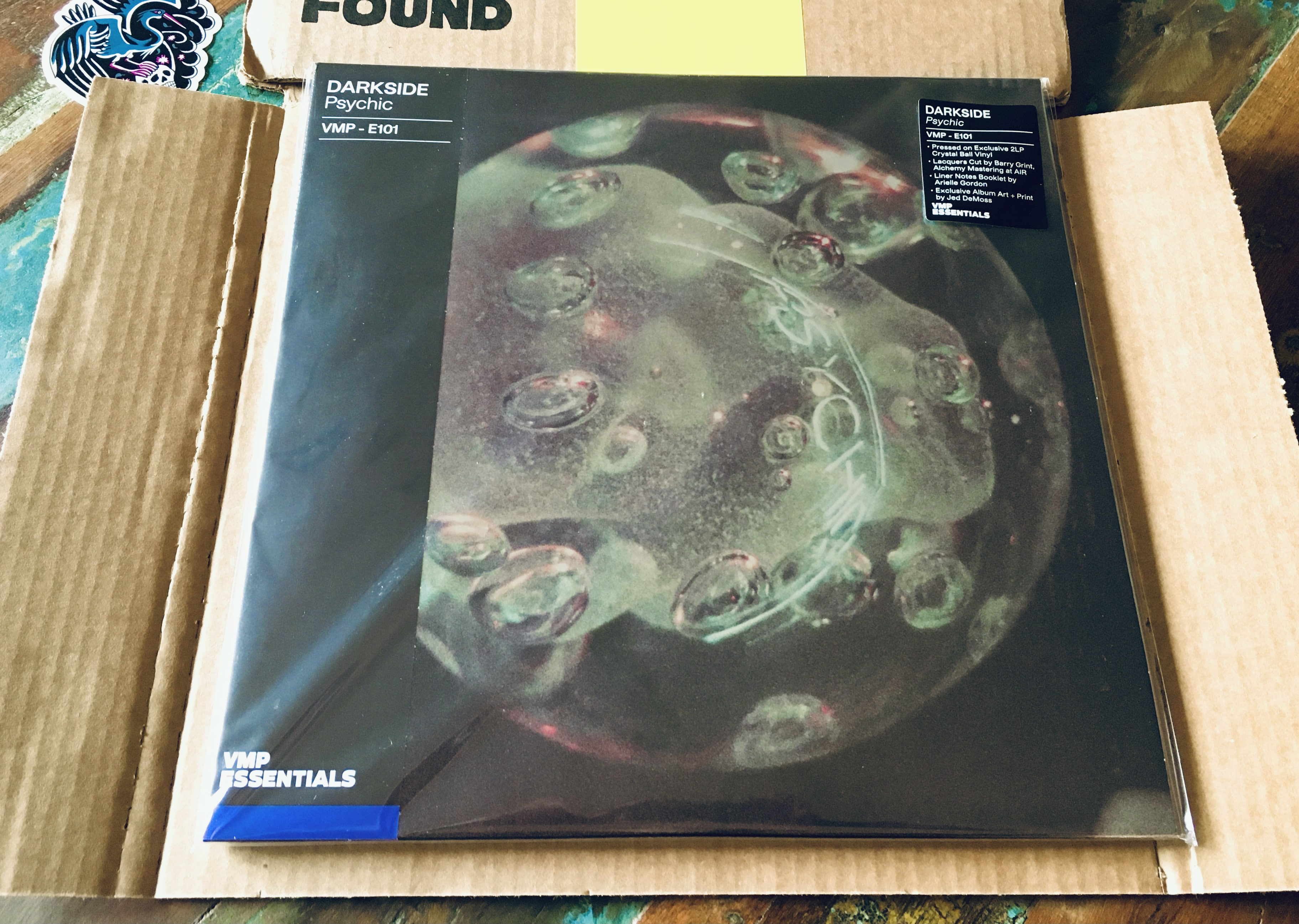 """Geek insider, geekinsider, geekinsider. Com,, vinyl me please may 2021 unboxing: darkside """"psychic"""", culture, featured, geek life, music, reviews"""
