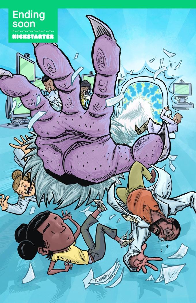 Glamorella's daughter, neuro-diverse, crowdfunding, indiegogo, kickstarter, ragin', comic books, comics, indie comics, raginavc, raginpromos