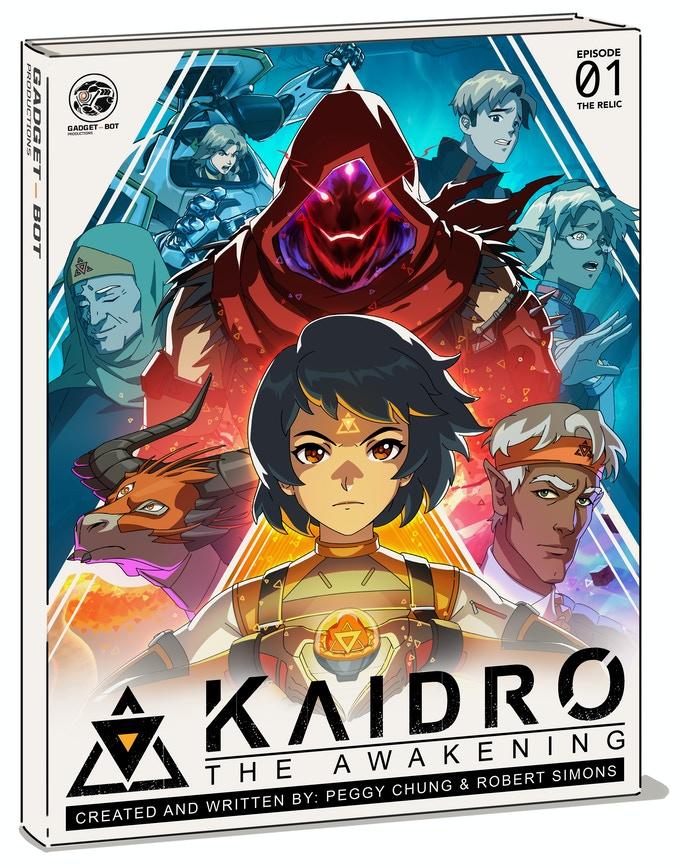 Kaidro, manga, crowdfunding, indiegogo, kickstarter, ragin', comic books, comics, indie comics, raginavc, raginpromos