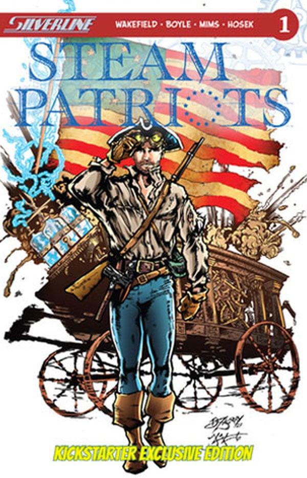 Divinity, steam patriots, barbara kaalberg, silverline comics, crowdfunding, indiegogo, kickstarter, ragin', comic books, comics, indie comics, raginavc, raginpromos