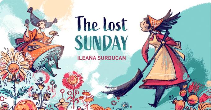 The lost sunday, comics, comic books, indie comics, ragin, raginavc, merej99, meredith loughran, nita lanning