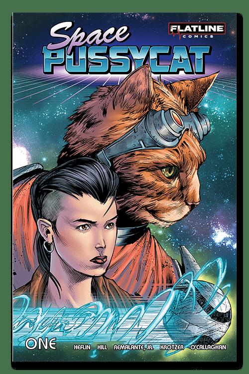 Space pussycat, comics, comic books, indie comics, ragin, raginavc, merej99, meredith loughran, nita lanning