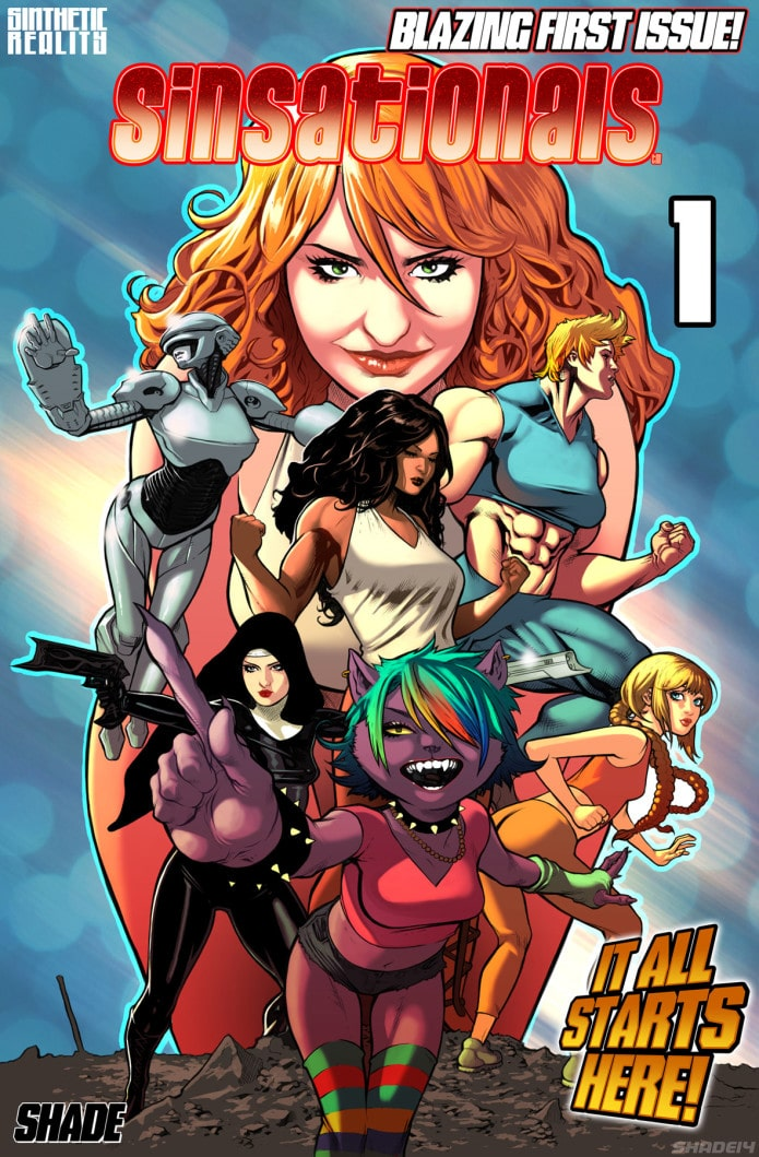Comics, comic books, indie comics, ragin, raginavc, merej99, meredith loughran, nita lanning, merej99, creatingchaos247, geek insider