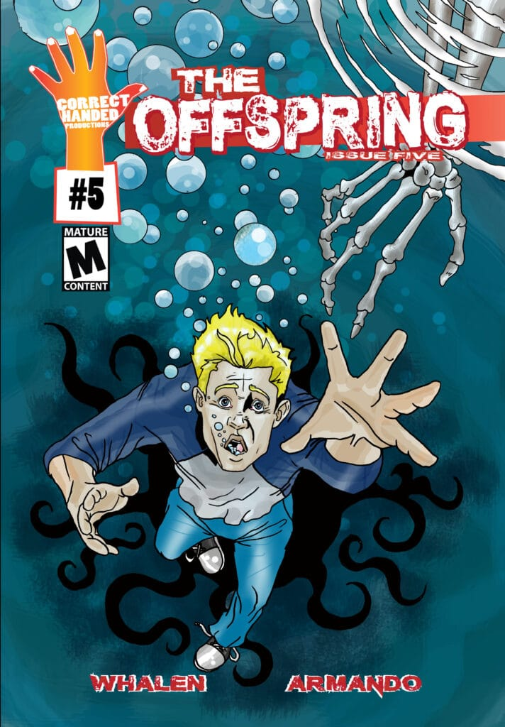 David whalen, the offspring, correct handed comics,