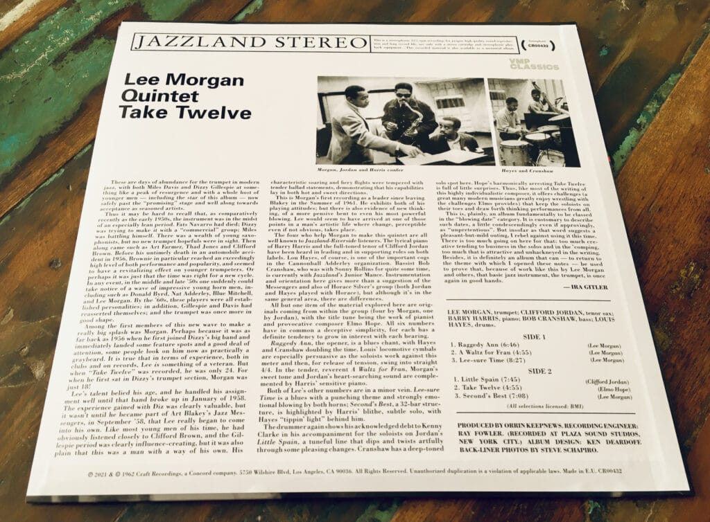 Geek insider, geekinsider, geekinsider. Com,, vinyl me, please september 2021 edition: lee morgan quintet - take twelve, culture, featured, geek life, music, reviews