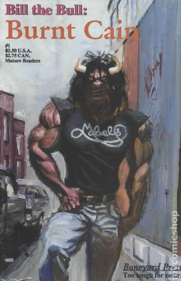 Hart d. Fisher, bill the bull, boneyard press, indie comics